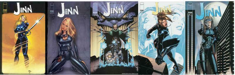 JINN (2000 IMAGE) 1A-2A,1B-2B,3  COMPLETE++