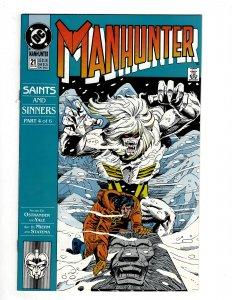 Manhunter #21 (1990) SR8