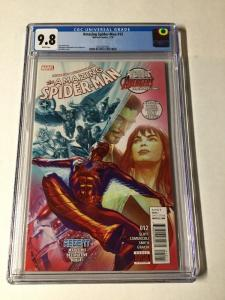 Amazing Spider-man 12 Cgc 9.8 Alex Ross Cover 2015 Series Vol 4