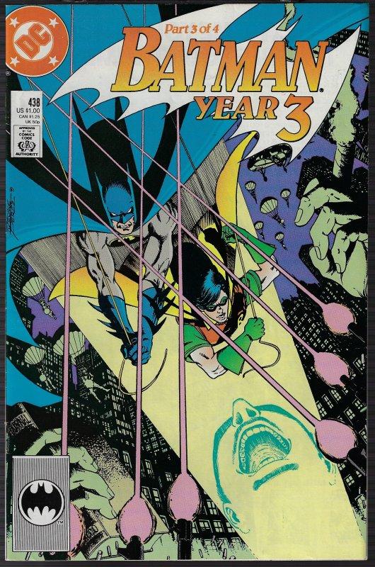 Batman #438 (DC, 1989) NM