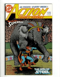 12 Action Comics Weekly DC Comics 630 631 632 633 634 635 636 637 638 639 + HG1