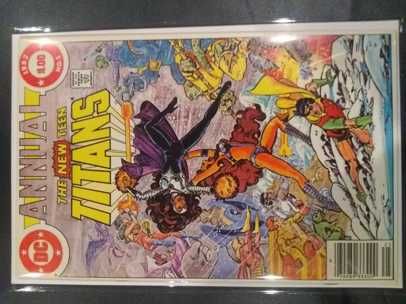 The New Teen Titans Annual #1 (1982)