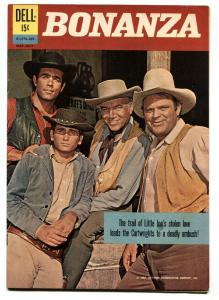 Bonanza Comics #01-070-207 1962- Dell-Photo cover-File copy-VF+