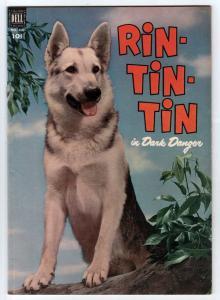 Four Color #434 (Nov-52) FN/VF Mid-High-Grade Rin Tin Tin