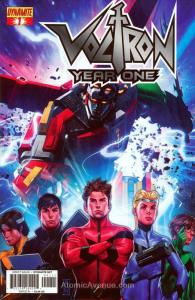 Voltron: Year One #1A VF/NM; Dynamite   save on shipping - details inside
