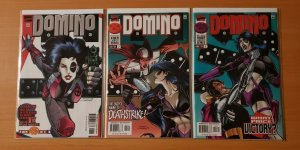 Domino 1-3 Complete Set Run! ~ NEAR MINT NM ~ 1997 Marvel Comics
