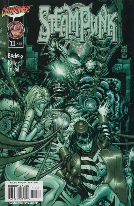 Steampunk #11 VF/NM; WildStorm | save on shipping - details inside