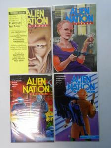 Alien Nation Lot, 12 Different 3 Sets 8.0/VF