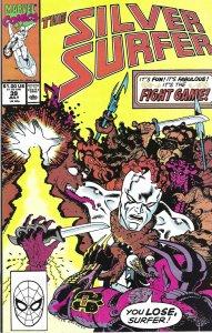 Silver Surfer #39 (July 1990) - Fantastic Four