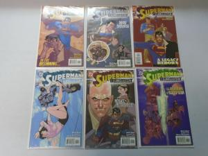 Superman Birthright set #1-12 8.0 VF (2003)