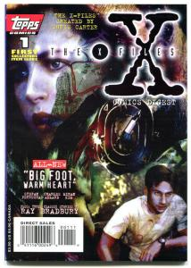 X-FILES Comic DIGEST #1, Big Foot, Ray Bradbury, Mulder, 1995,  more in store