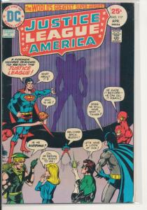 DC Justice League of America #117 Very Good/Fine (5.0) 1975 (447J)