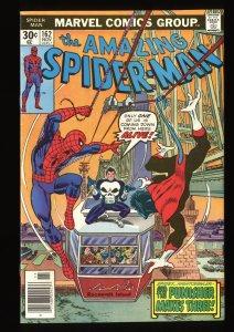 Amazing Spider-Man #162 NM- 9.2 Punisher! Marvel Comics Spiderman