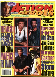 ACTION HEROES #1-1994-CLINT EASTWOOD-THE SHADOW-HARRISON FORD & MORE