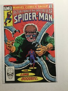 Peter Parker, The Spectacular Spider-Man 78 Near Mint Nm Marvel
