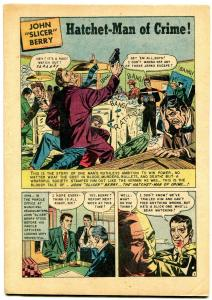Parole Breakers #3 1952- coverless reading copy- Golden Age