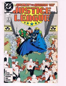 Justice League #3 VF DC Comics Rocket To Russia Comic Book Giffen 1986 DE14