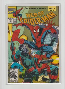 Web of Spider-Man #97 NM High Grade! 1st appearance of Dr. Kevin Trench KEY!!