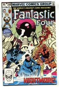 Fantastic Four #248-1st appearance of Kristoff 1982 NM-