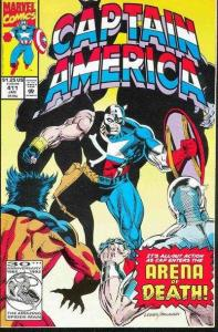 Captain America (1968 series) #411, NM + (Stock photo)