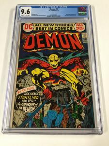 Demon 1. Gc 9.6 Ow/w Pages 1st First Appearance Of Demon Dc Comics