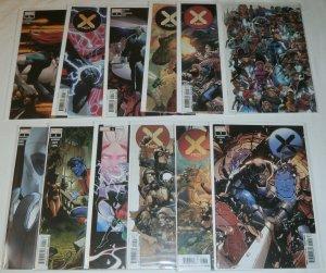 X-Men (vol. 4,2020) #1-9, Giant-Size Jean Grey/Emma Frost, Nightcrawler, Magneto