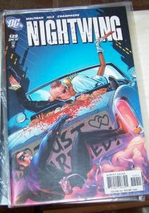 NIGHTWING  # 129  2007 DC COMICS  +dick grayson bride and groom batman