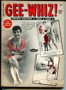 Gee-Whiz #2 1/1956-Humorama-Bill Ward- Wenzel-Dan DeCarlo-Maria Stringer-VG/FN