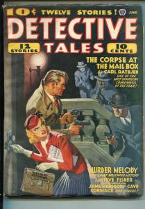 DETECTIVE TALES 06/1941-POPULAR PUBS-HARD BOILED-CRIME-BLASSINGAME-GUNFIGHT-vf