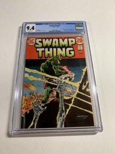 Swamp Thing #3 CGC graded 9.4