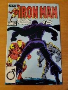 Iron Man #196 ~ NEAR MINT NM ~ (1985, Marvel Comics)