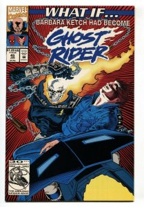 What If #45 1992 BARBARA KETCH HAD BECOME GHOST RIDER?