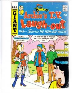 Archie's TV Laugh Out #6 (Feb-77) FN- Mid-Grade Archie