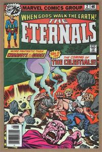 ETERNALS #2, VF/NM, Jack Kirby, Marvel, 1st Ajak, Celestials, 1976,more in store