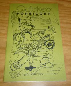 Quicken Forbidden/Splits Preview #1 VF/NM ashcan - alice in woderland related