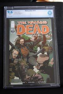 The Walking Dead #114. 9.6, Robert Kirkman Story,