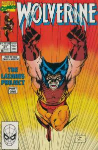 Wolverine #27 VF/NM; Marvel | save on shipping - details inside