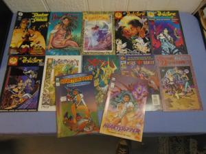 13 Underground Independent Indie Comic Books Dreamwalker Philistine Xenya MORE