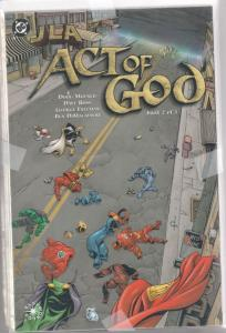 JLA Act of God Set 1-3 #1to3 (Jan-00) NM Super-High-Grade Justice League of A...