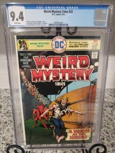Weird Mystery Tales #22 CGC 9.4