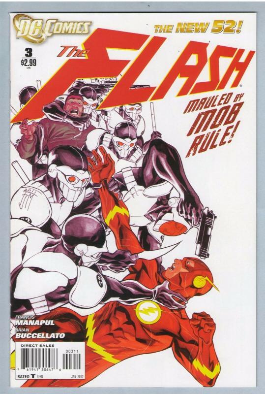 Flash V3 3 Jan 2012 NM- (9.2)