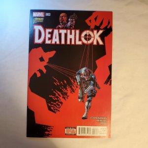 Deathlok 3 Very Fine/Near Mint Cover by Mike Perkins