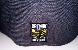 DC Comics Batman Rebirth Symbol PX 3930 FlexFit Cap Hat M/L - New!