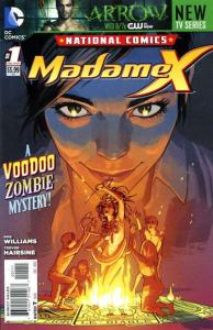 National Comics: Madame X #1, NM + (Stock photo)