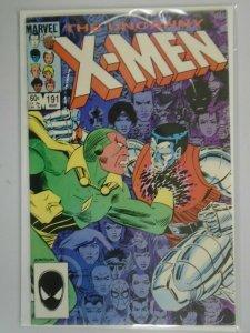 Uncanny X-Men #191 Direct edition 8.0 VF (1985 1st Series)