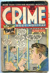 CRIME DOES NOT PAY #64-PRISON BREAK-CHARLES BIRO-SOTI G