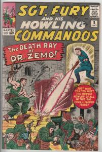 Sgt. Fury and His Howling Commandos #8 (Jul-64) VF+ High-Grade Sgt. Fury, Dum...