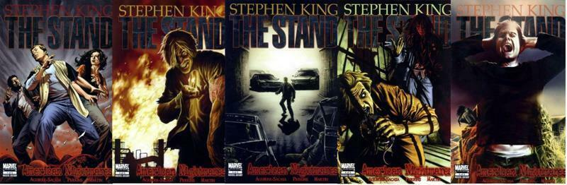STAND, THE AMERICAN NIGHTMARES (2009) 1-5  COMPLETE! COMICS BOOK
