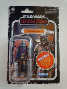 Star Wars The Retro Collection The Mandalorian 3.75-inch Scale Action Figure