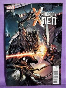 Rocket Raccoon & Groot UNCANNY X-MEN #28 Variant Cover (Marvel, 2015)!